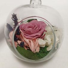 композиция в стекле